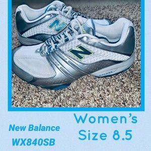 Women's New Balance training shoes size 8.5